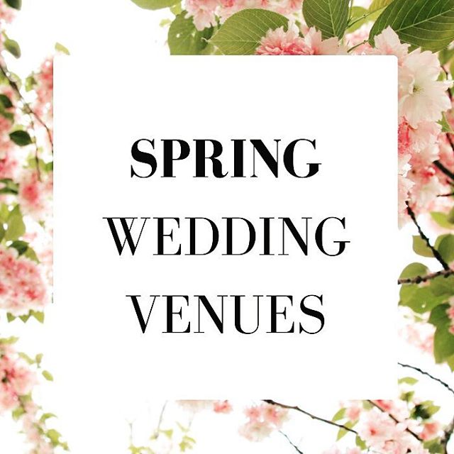 Goodbye winter hellloooo spring! Nip along to our blog {link in bio spring chickens!} to read 'Blooming marvellous: 4 spring garden wedding venues' #weddingvenues #weddings #springweddings #gardenweddings #gardenweddingvenues #spring #springisintheair #weddingsideas #weddinginspiration {http://buff.ly/2lk2tUy}
