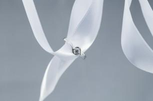 Panache design on ribbon